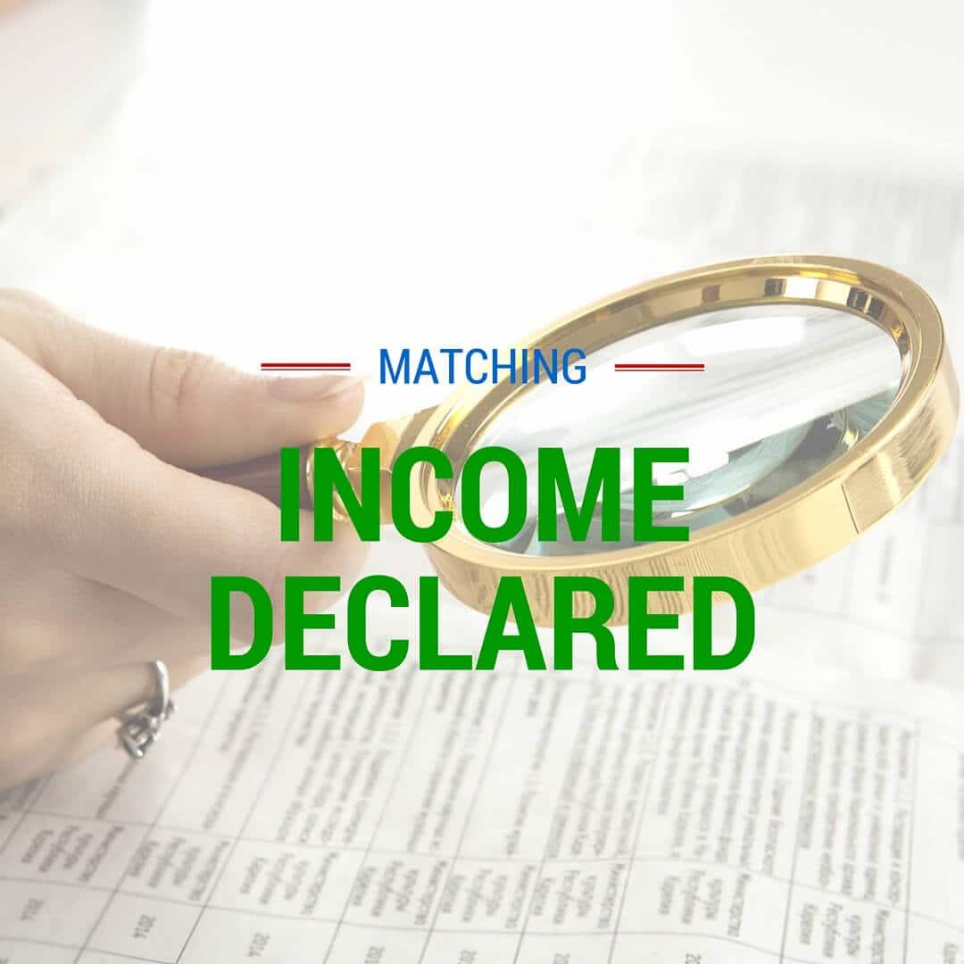 Declared Income