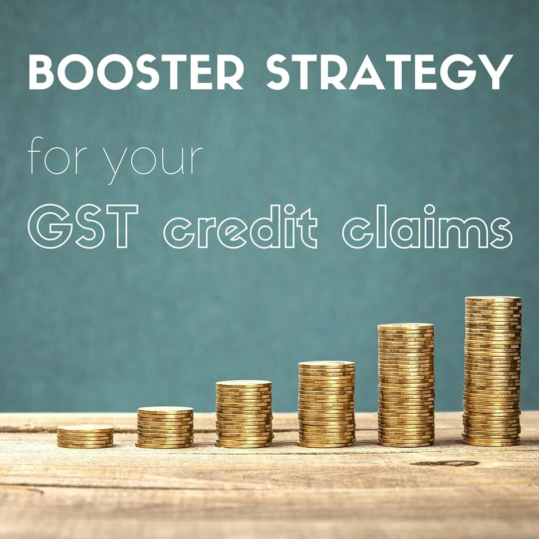 GST Credit Claims