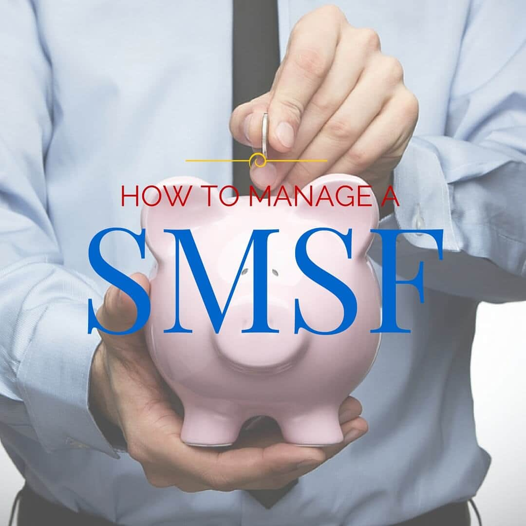 Manage SMSF